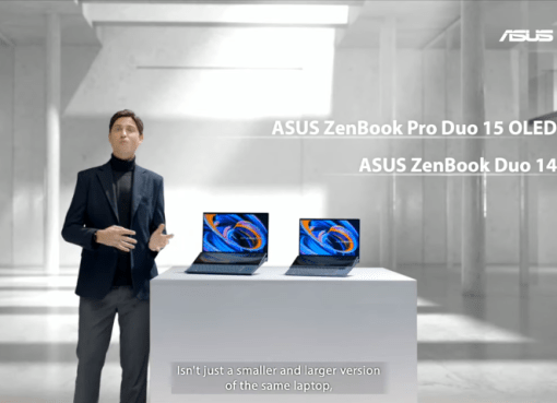 Asus CES 2021 Be Ahead launch event