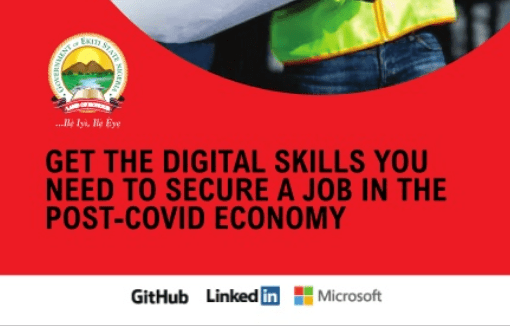 Ekiti State Government Microsoft digital skills Nigeria