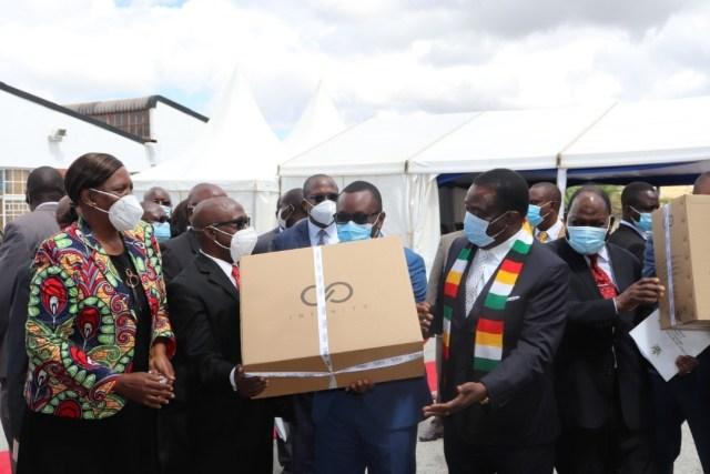 Zimbabwean company Infinity laptop desktop