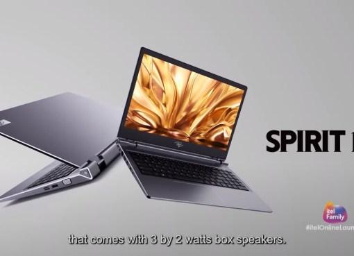 itel Spirit 1 notebook laptop