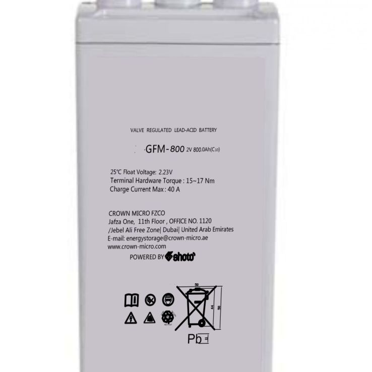2V 800Ah Dry Cell Shoto | Microsolution