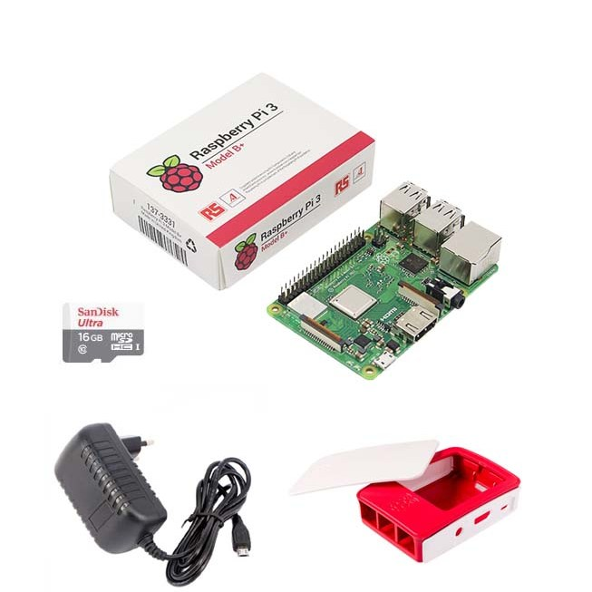Raspberry Pi 3 Essential Kit Model B+ RS in Pakistan | Microsolution