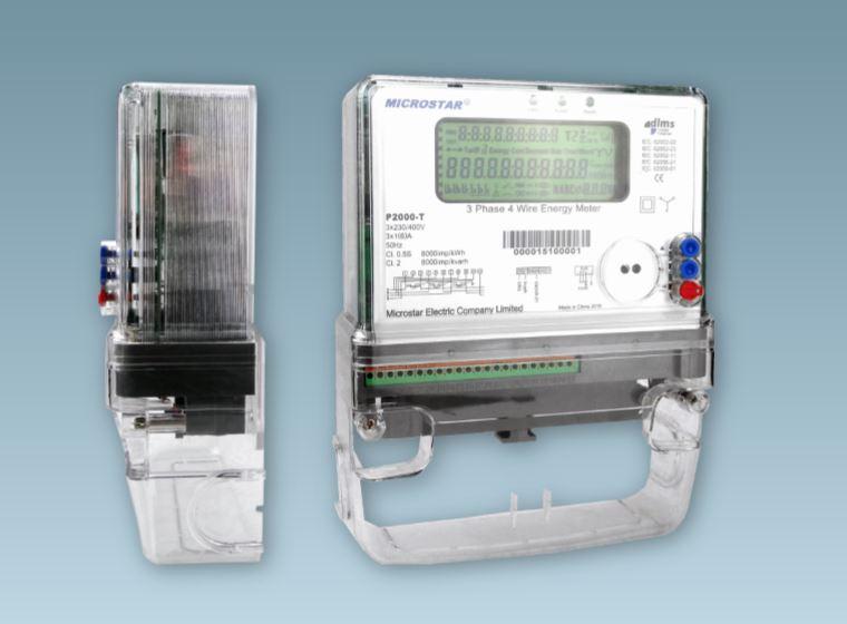 P2000-T Three Phase CT/CTVT Smart Meter