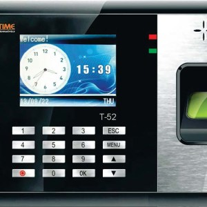 Realtime-T52-Biometric-Time-Attendance-System