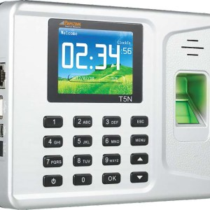 Realtime-T5N-Biometric-Time-Attendance-System