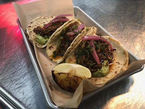 Lion's Mane Carnitas Tacos