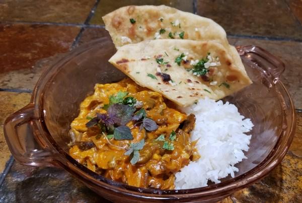 Mushroom Makhani (Mushroom Butter Masala)