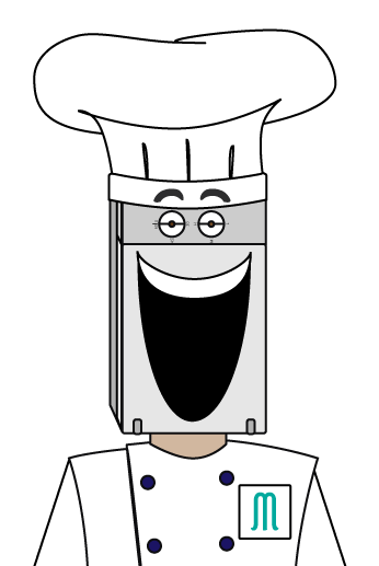 Chef Magnetroni Bust