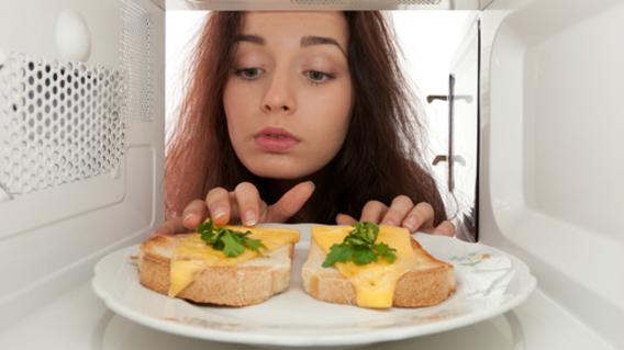 Microwave Student Food