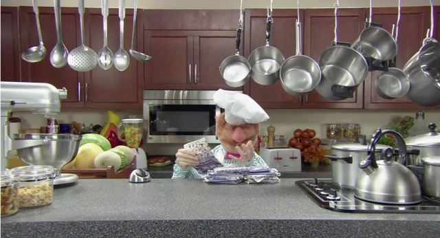 microwave popcorn swedish chef muppet show