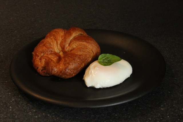 Microwave Poached Egg Served