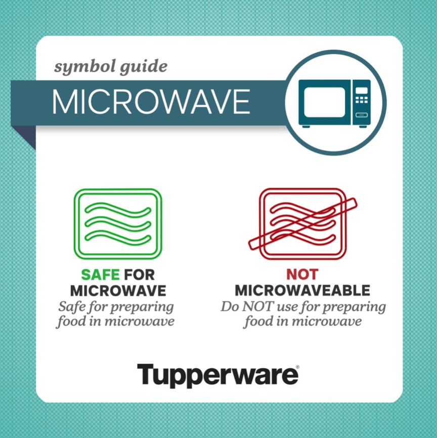 can you microwave plastic tupperware