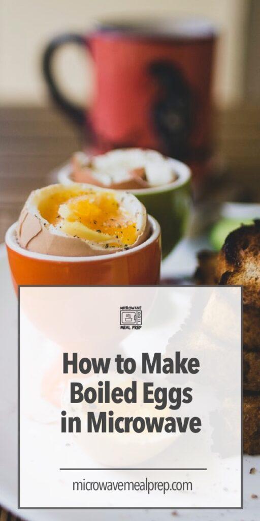 microwave boiled eggs