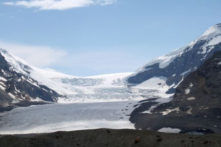The Columbia Icefield is magnificent to see in person