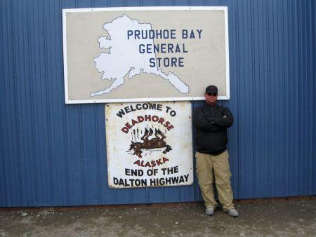 "Reaching the ""End of the Dalton Highway"" - Deadhorse, AK"