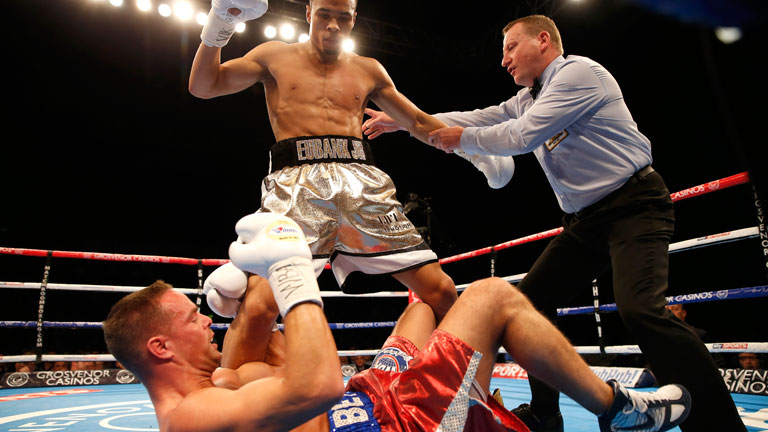 Boxer Nick Blackwell Is In Coma After Fight With Chris Eubank JR On Sunday