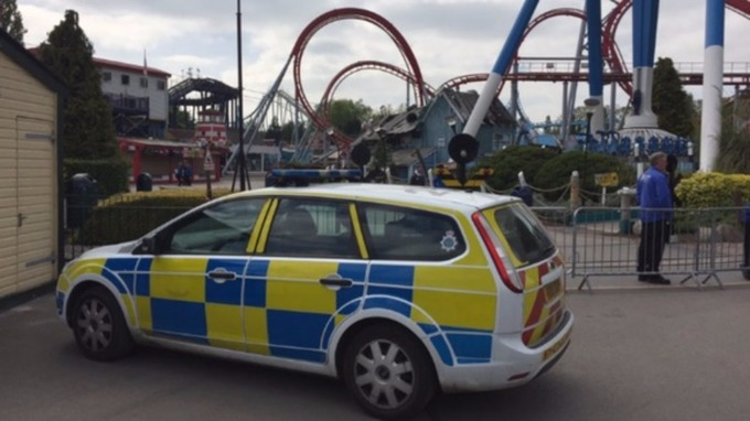 Drayton Manor Theme Park Closes Following A Fatal Accident On Tuesday