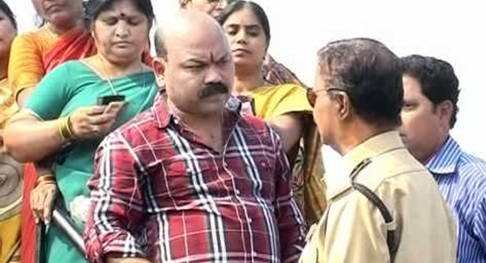 Trs mp son arrested for sexual harassment