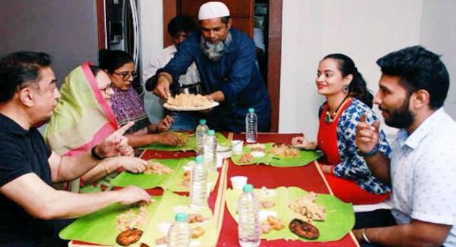 Telugu news Kamal Hassan's Special Biriyani Treat to Suja Varunee and Shivakumar the Newly Married Couple