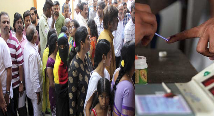 Telugu news medak scores record with 75 percent polling in Telangana assembly elections