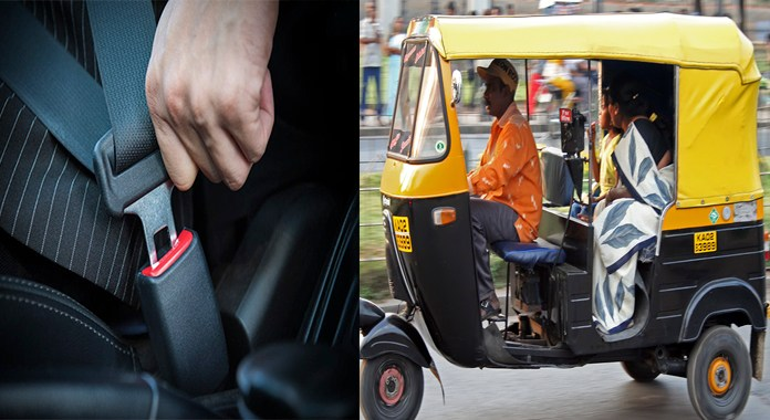 Telugu News Central government planning to initiate seat belt for autos