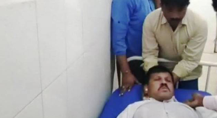 Telugu News Karnataka BJP MLA attempts suicide over alleged harassment of supporters