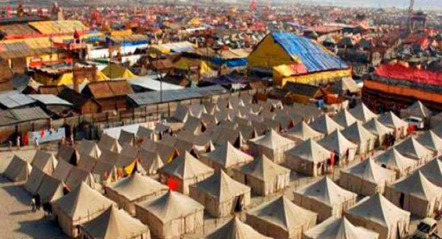 Telugu news Temporary city ready for Kumbh Mela … The estimated cost of Kumbh Mela is expected to 4,300 crores