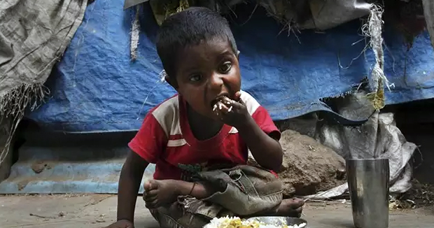 Telugu News Madhya Pradesh Child Allegedly Drinks Insecticide Due To Hunger, Critical.