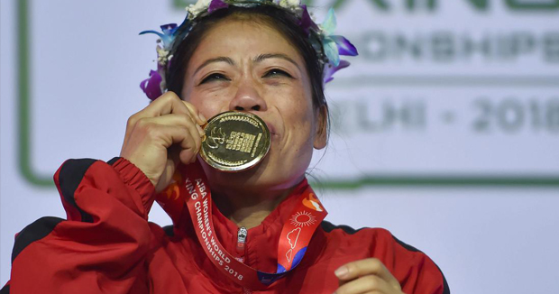 Telugu news Another high for 'Magnificent Mary' Kom to become World No.1 in AIBA rankings.