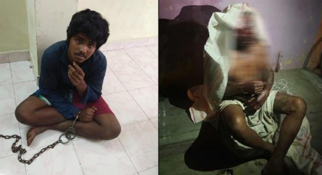 Telugu news Fans with attacks with knives Petrol over another fan father .