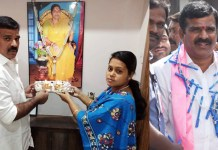 Telugu news Mother blessing with is the MLA who comes into the Assembly