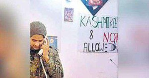 A hotel in Meerut puts a banner Kashmiri not allowed.0