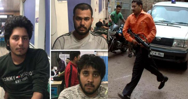 Telugu News 5 Men Wanted In Murder Cases Caught By Delhi Police After Shootout.