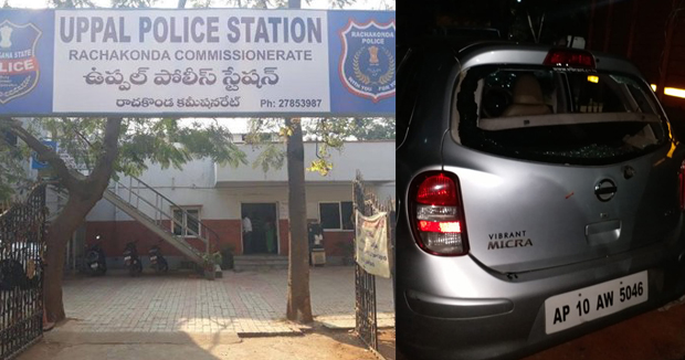 Telugu news Hijras beat up in Uppal..  attack on Police Station..