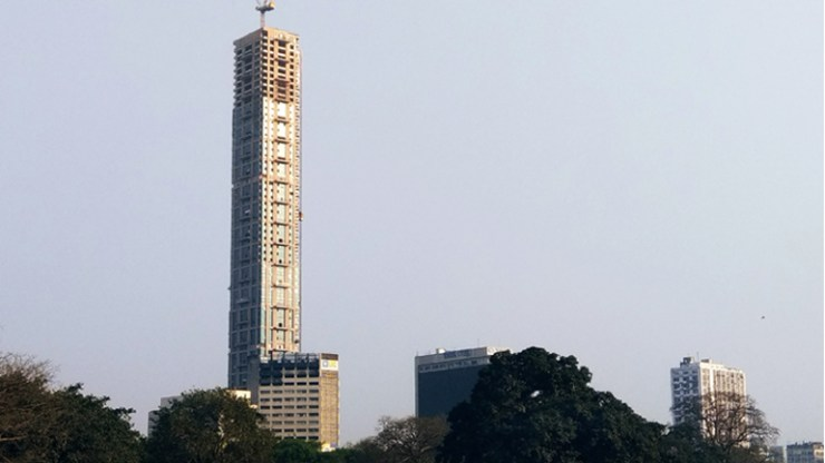 Tallest building in india 268 metres building Kolkata high-rise the 42 becomes tallest building in the country