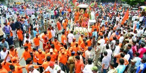 Diversion In Hyderabad For Hanuman Jayanthi Shobhayatra