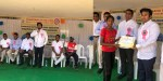 AHR foundation chairman annapareddy appireddy calls to play sports in suryapet rugby coachers camp.