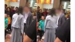 Chinese woman slaps boyfriend in public for not buying her a mobile phone.