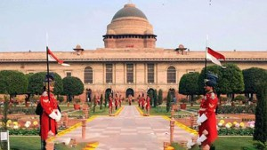 Rashtrapati bhavan arrangements for prime minister oath take ceremony.