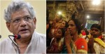 Who Said Hindus Can't Be Violent CPM party leader Sitaram Yechury Cites Ramayana and Mahabharata rises controversy