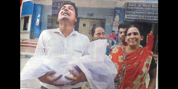 'My bad luck' Bengal man blames doctors' strike for death of his newborn