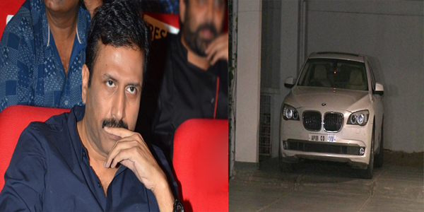 Another shock for Raviprakash Alanda Media which was seize by cars..