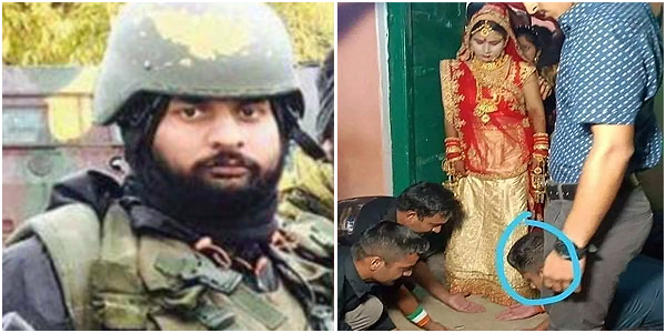 Brothers in arms! Garud commandos fill martyr JP Nirala's shoes, make newly-married sister walk on their palms