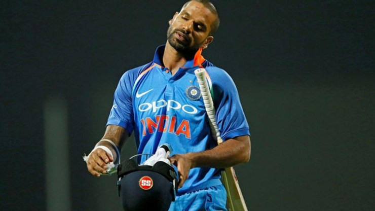 Indian opener Shikhar Dhawan Ruled Out Of World Cup For 3 Weeks With Thumb Injury