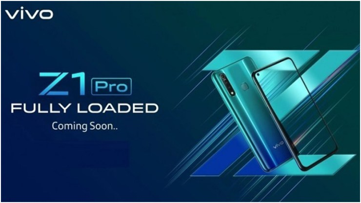 chinese mobile manufacturer Vivo Z1 Pro With 'In-Display Selfie Camera' to Launch in India Soon, Will Be Exclusive to Flipkart.
