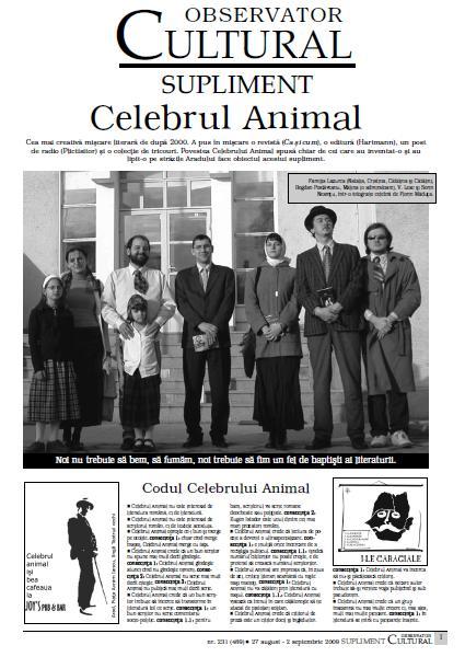 celebrul animal blog