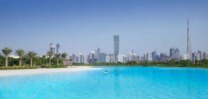 Mohammed bin Rashid City District One lLgoon