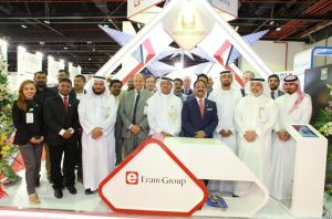 Dr. Siddeek Ahmed - CMD - ERAM Group with senior dignitaries - WETEX 2016