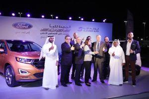 Ford Middle East and Alghaim Auto teams