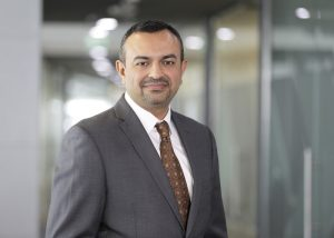 Harshul Joshi - Senior Vice President of Cyber Governance Risk and Compliance (PRNewsFoto/DarkMatter)